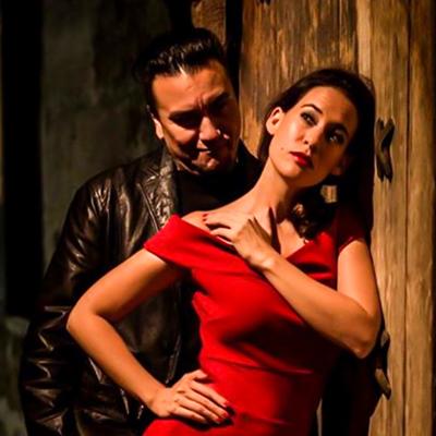Juana Sepulveda and Chicho Frumboli