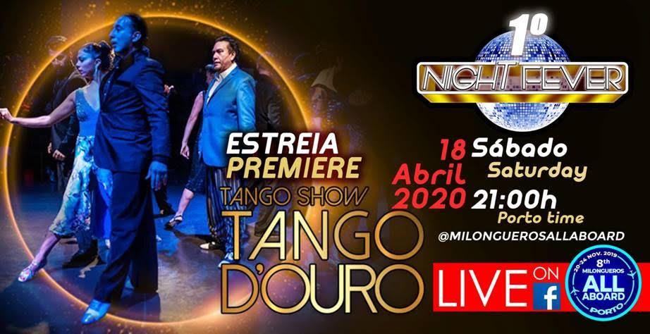 1 night fever - milongueros all aboard - tango show