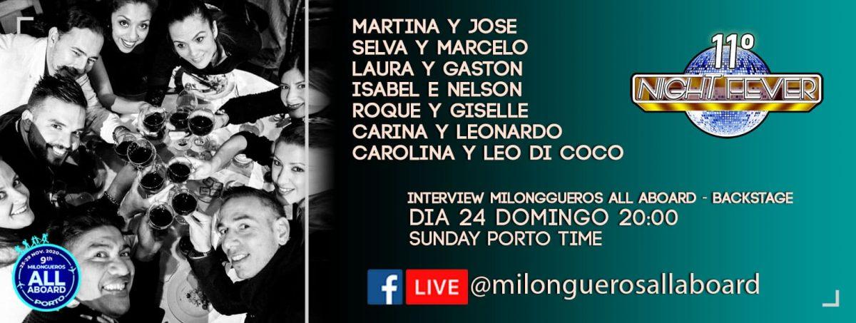 Milongueros All Aboard MAESTROS INTERVIEW