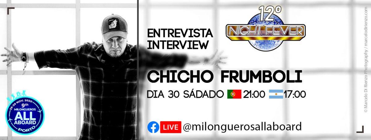 INTERVIEW TI THE WORLD TANGO MAESTRO MARIANO CHICHO FRUMBOLI