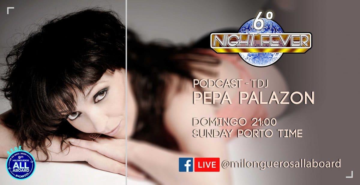 PEPA PALAZON ENTREVIEW BY MILONGUEROS ALL ABOARD TANGO FESTIVAL