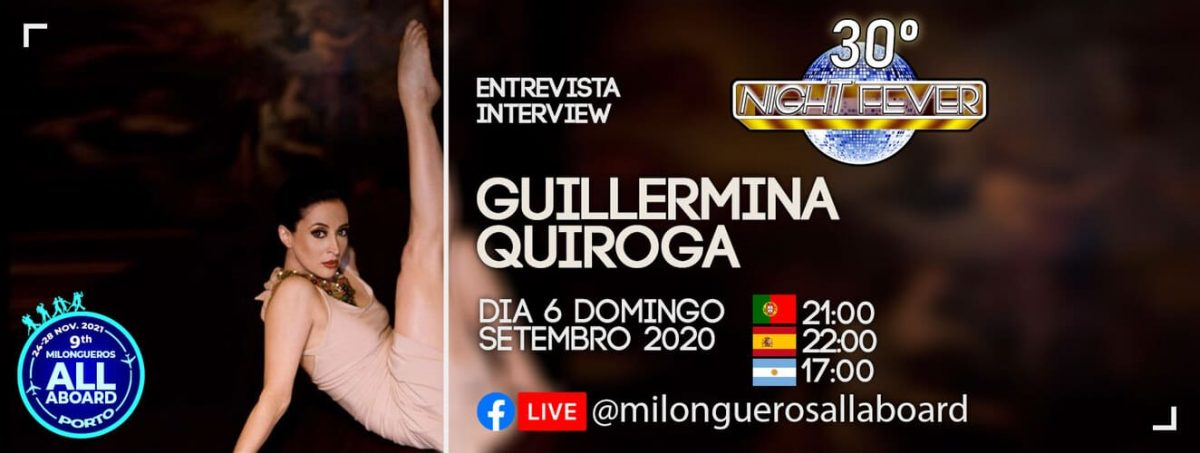 Guillermina Quiroga's interviwe by the portuguese tango dancer Isabel Costa and Nelson Pinto