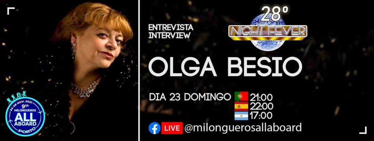 Olga Besio Tango Interview to portuguese tango dancers Isabel Costa e Nelson Pinto