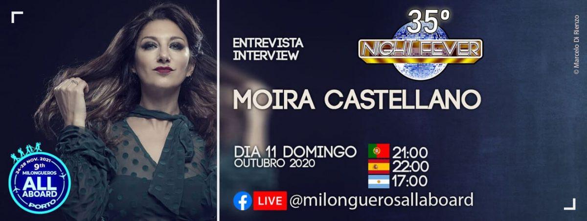 Moira Castellano interview to portuguese tango dancets Isabel Costa e Nelson Pinto