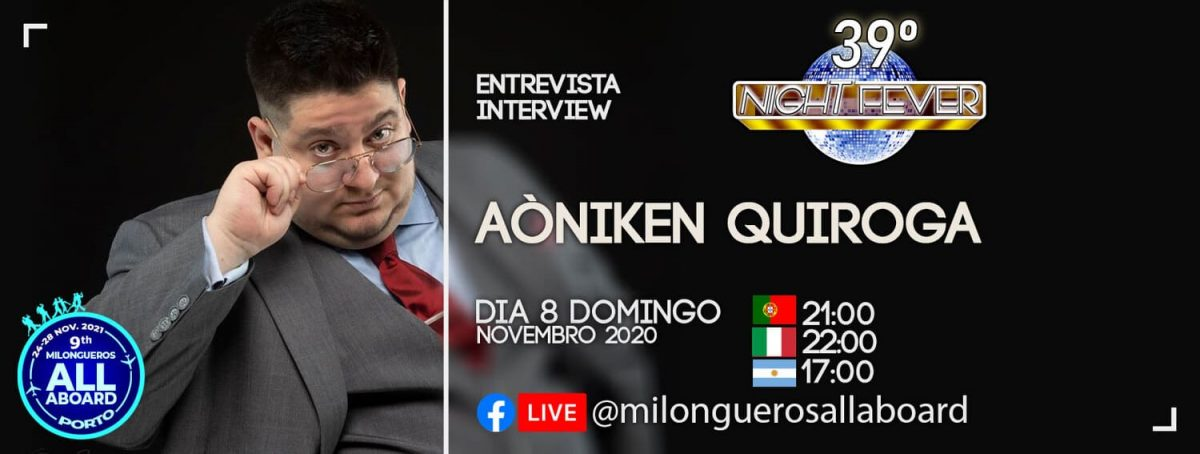 INTERVIEW TO AONIKEN QUIROGA