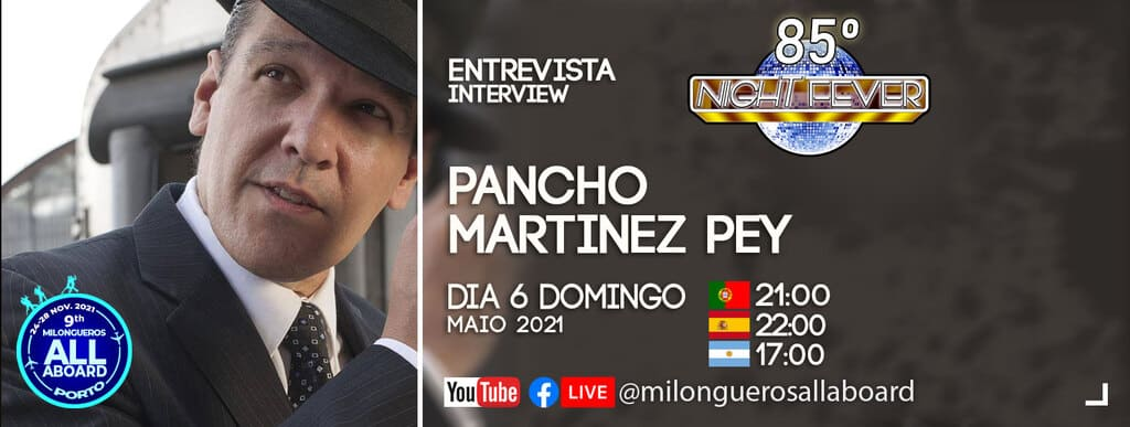 Pancho Martinez Pey is intrviewed by Isabel Costa and Nelson Pinto