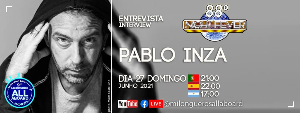 Pablo Inza is entreview by Isabel Costa e Nelson Pinto