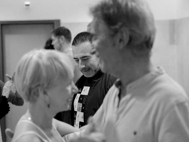 classe de tecnica com roque e giselle no festival de tango all aboard